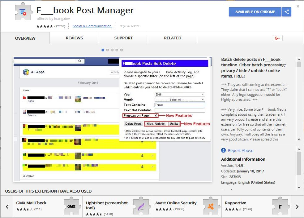 facebook-post-manager