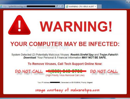 Don't Fall for the Malware Scam