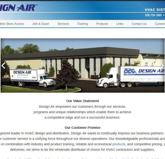 designair website