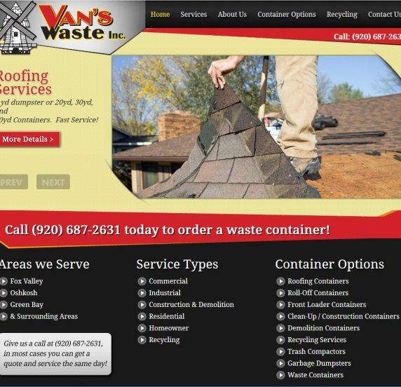 vanswaste website