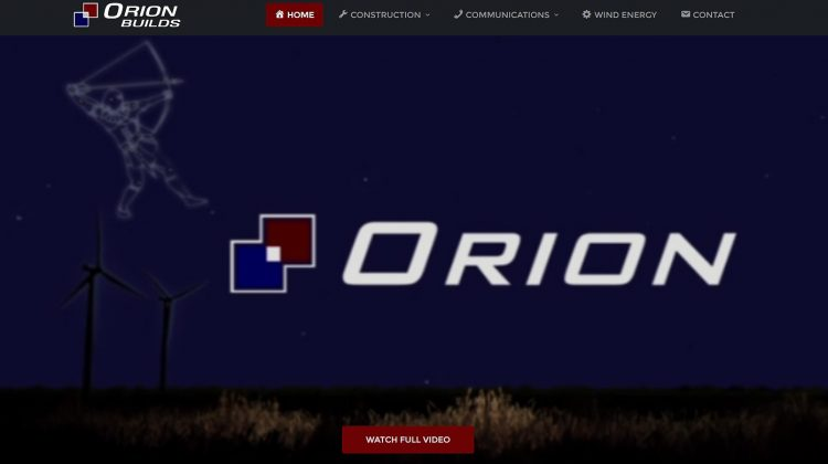orion builds website logo