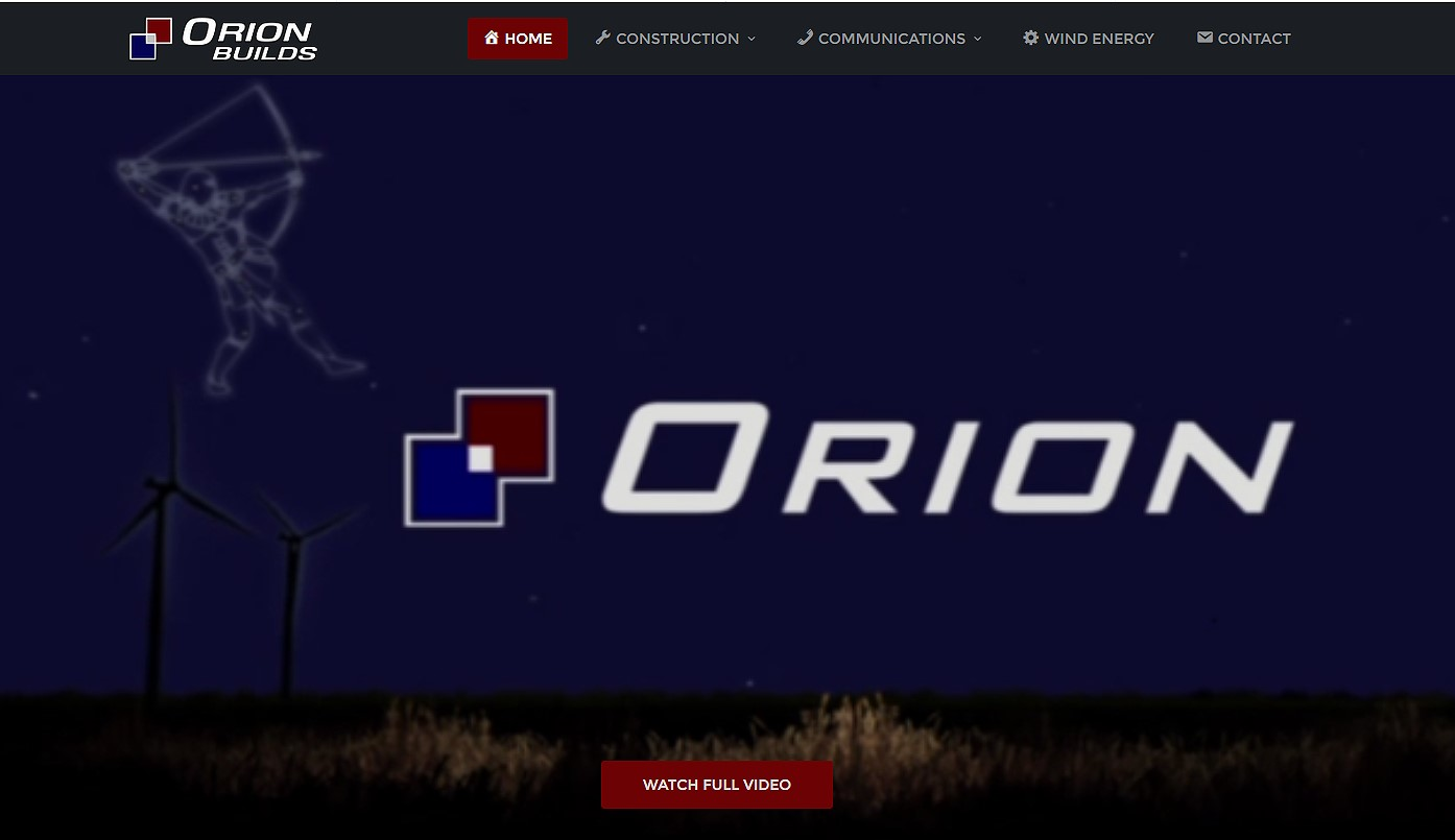 orion builds website logo