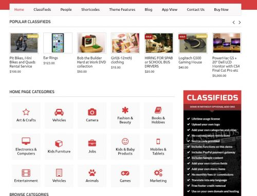 Building a Classified Ads Site