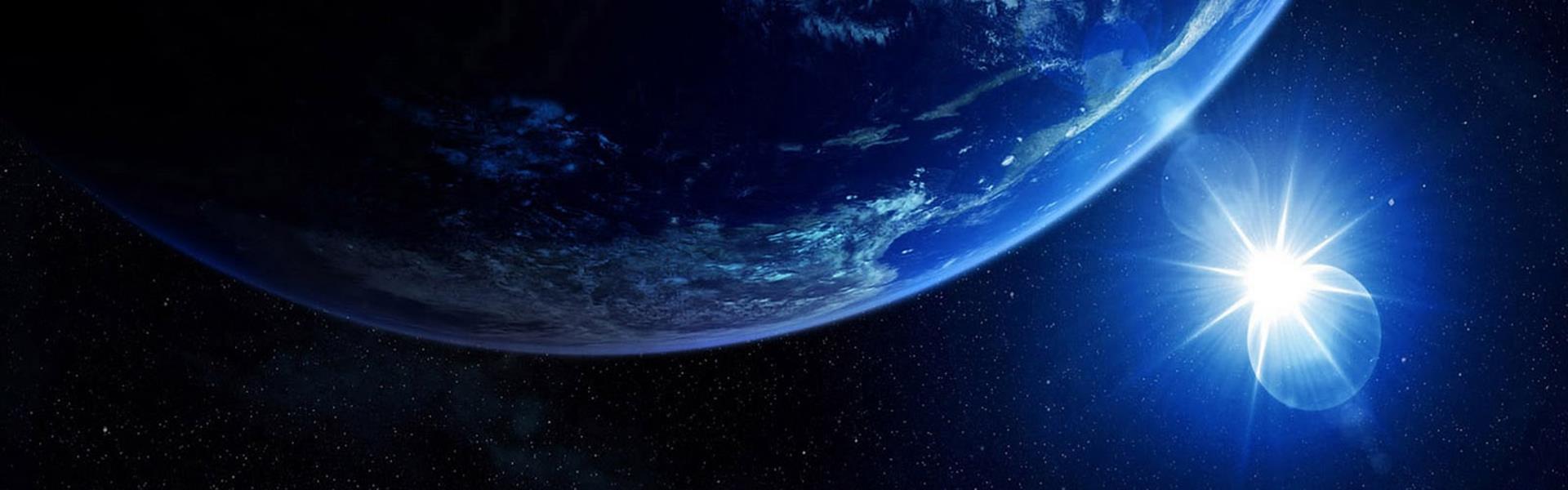 earth sun image global market
